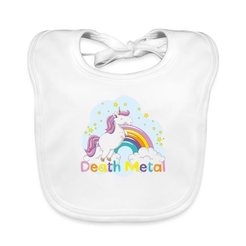 unicorn death metal - Bio-slabbetje voor baby's