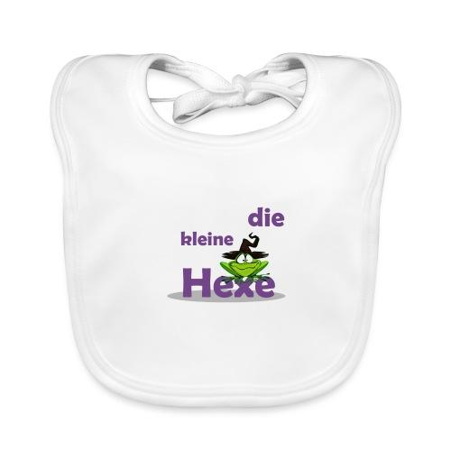 Baby Bio-Langarm-Body Kleine Hexe Wunschname - Baby Bio-Lätzchen