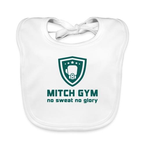 Logo_Mitch_Gym edit - Bio-slabbetje voor baby's