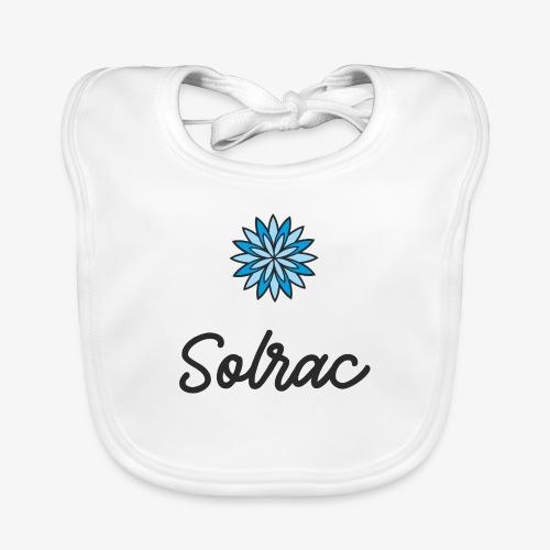SOLRAC Writing - Babero de algodón orgánico para bebés