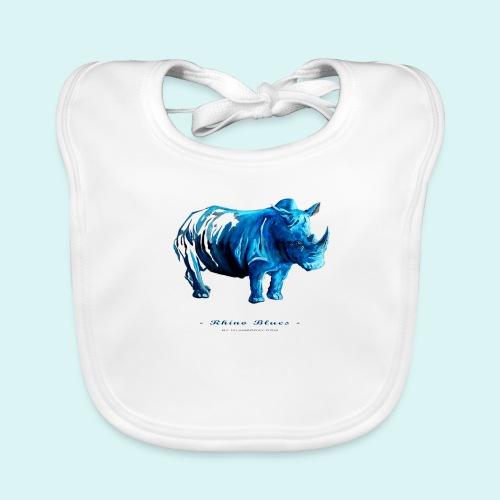 Rhino Blues - Organic Baby Bibs