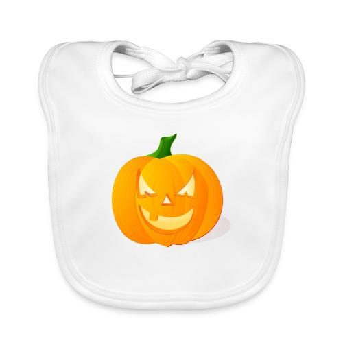 Kürbis Halloween Scary - Baby Bio-Lätzchen
