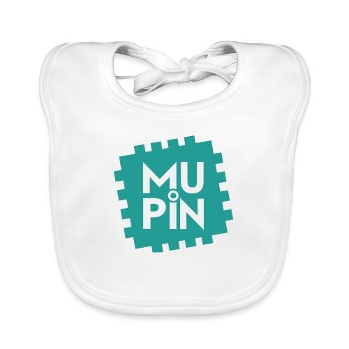 Logo Mupin quadrato - Bavaglino ecologico per neonato