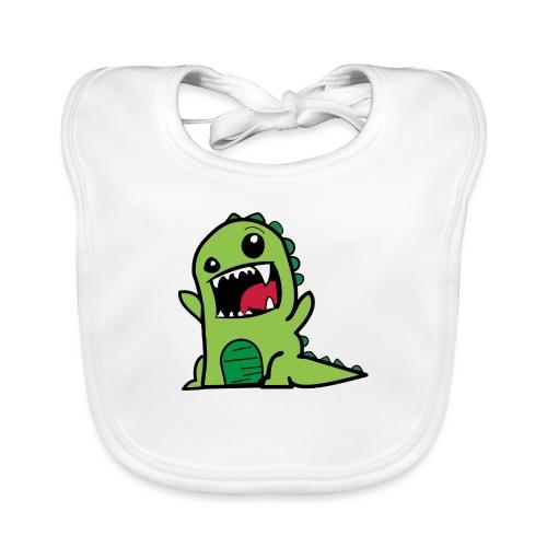 Comic-Dino - Baby Bio-Lätzchen