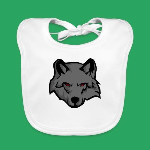 wolf logo - Bavaglino ecologico per neonato