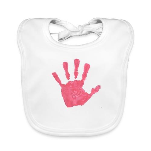 Hand - Ekologisk babyhaklapp
