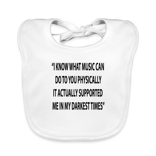 Quote RobRibbelink physically Phone case - Baby Organic Bib