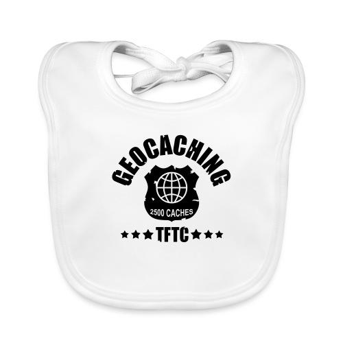 geocaching - 2500 caches - TFTC / 1 color - Baby Bio-Lätzchen