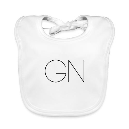 Långärmad tröja GN slim text - Ekologisk babyhaklapp