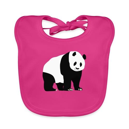 Panda - Vauvan luomuruokalappu
