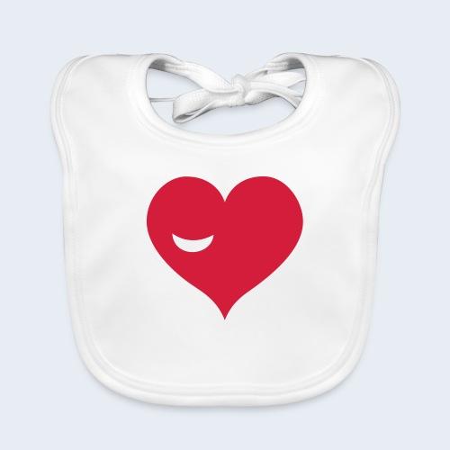 Winky Heart - Bio-slabbetje voor baby's