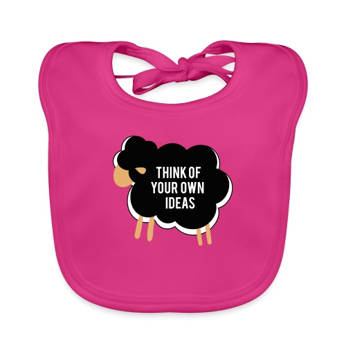 Think of your own idea! - Baby Organic Bib
