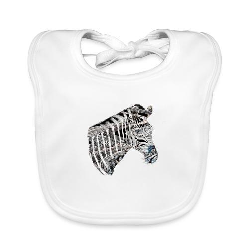 zebrastreifen - Baby Bio-Lätzchen
