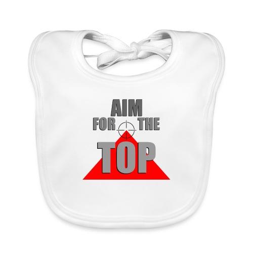 Aim For The Top, by SBDesigns - Bavoir bio Bébé