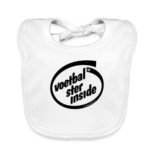 Inside voetbal - Bio-slabbetje voor baby's