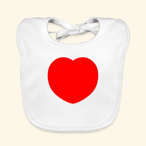 Heart - Baby Bio-Lätzchen