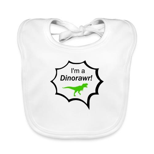 I¨m a dinorawr - Ekologisk babyhaklapp