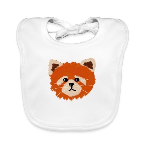 Amanda the red panda - Organic Baby Bibs