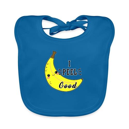 Banana divertente kawaii carina fumetto - Bavaglino ecologico per neonato