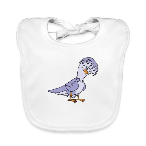 Taube von dodocomics - Baby Bio-Lätzchen