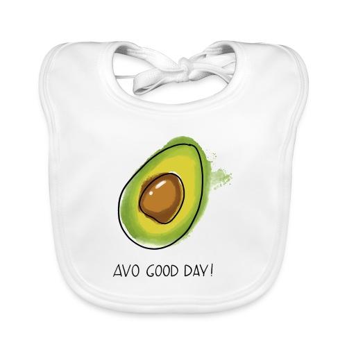 Fruit Puns n°2 Avo Good Day, Avocado - Baby Bio-Lätzchen