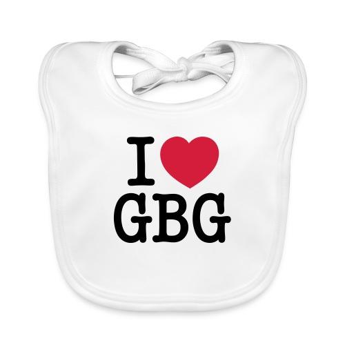 I love GBG - Ekologisk babyhaklapp