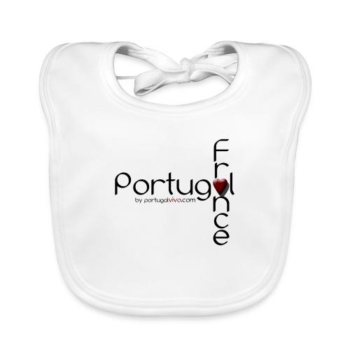 Portugal Love France - Bavoir bio Bébé