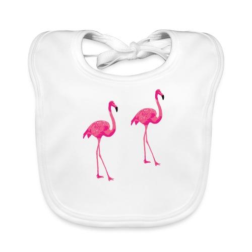 Flamingo - Bio-slabbetje voor baby's