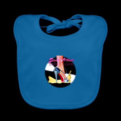 Sloan Vicious Hot Vinyl [Cyber Glam Collection] - Organic Baby Bibs