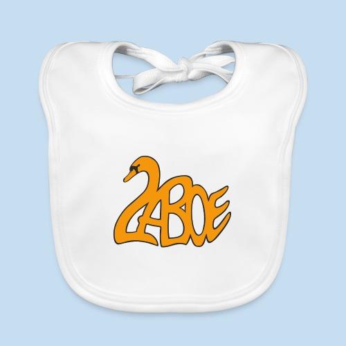 Laboe Schwan orange - Baby Bio-Lätzchen