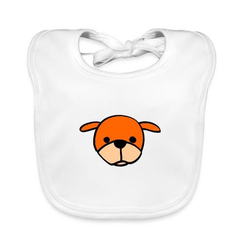 Bruine Hond (Brown Dog) - Bio-slabbetje voor baby's