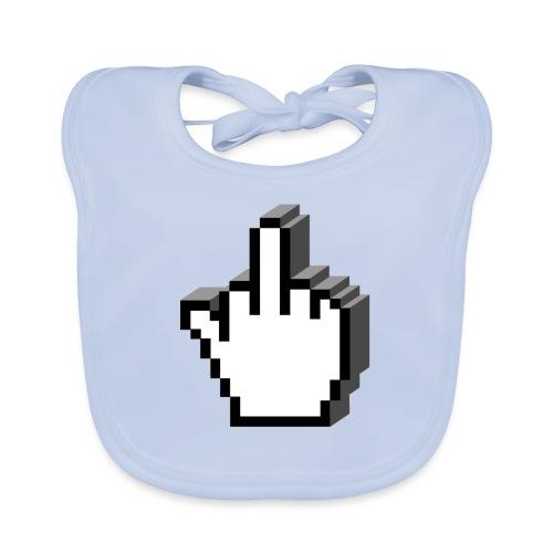 Middle_Finger_Design - Organic Baby Bibs