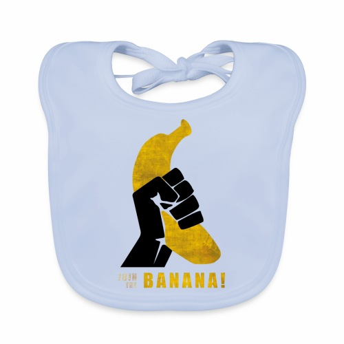 Join the Banana ! Wankil - Bavoir bio Bébé
