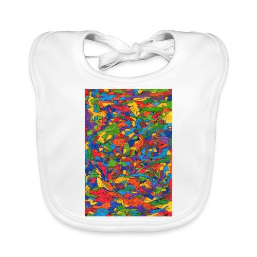 Color_Style - Babero de algodón orgánico para bebés