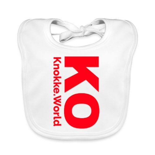 ko hoodie - Bio-slabbetje voor baby's