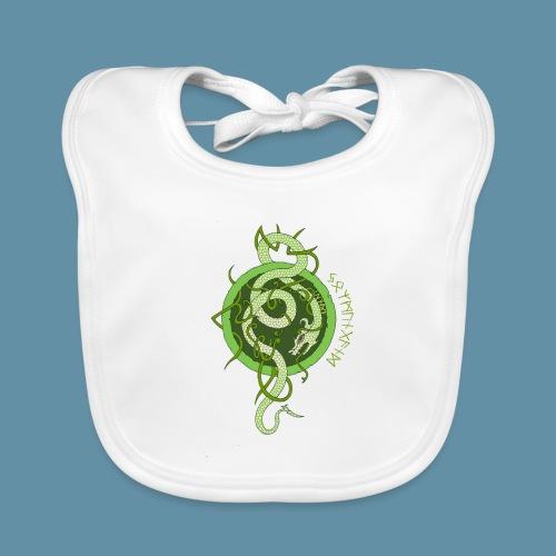 Jormungand logo png - Bavaglino ecologico per neonato