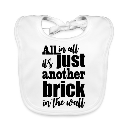 another brick vect - Bavoir bio Bébé