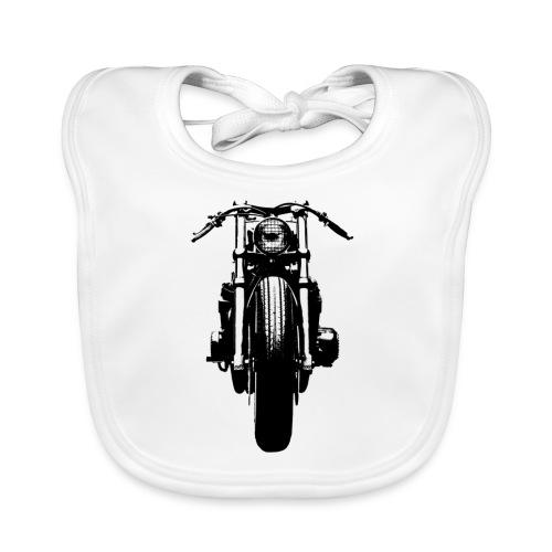 Motorcycle Front - Baby Organic Bib
