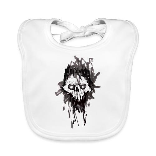 Skullface - Baby Organic Bib