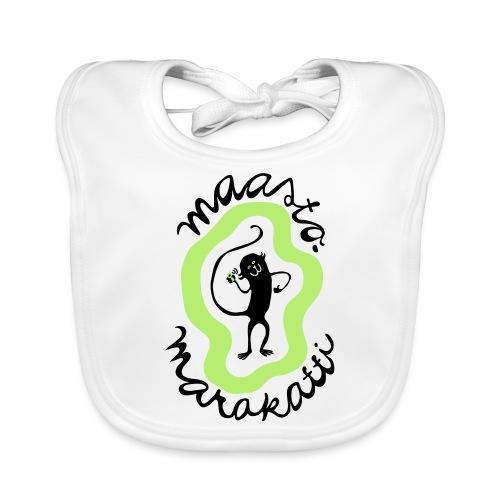 Maastomarakatti - Vauvan luomuruokalappu