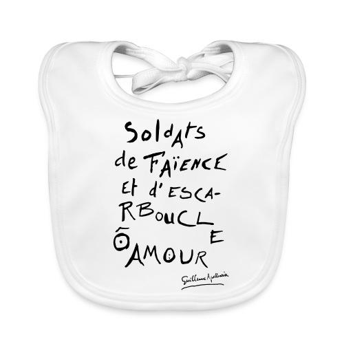 Calligramme - Soldat de faillance - Bavoir bio Bébé