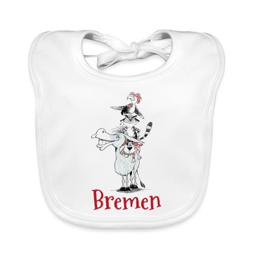 Bremer Stadtmusikanten - Baby Bio-Lätzchen