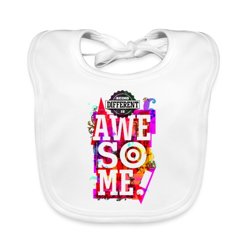 Different = Awesome - Baby Organic Bib