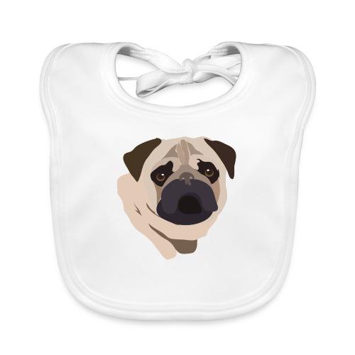 Pug Life - Baby Organic Bib