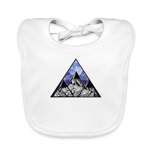 Grime Apparel Mountain Range Graphic Shirt. - Baby Organic Bib
