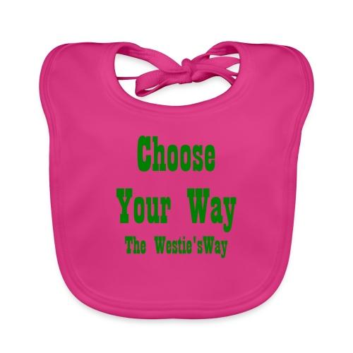 Choose Your Way Green - Ekologiczny śliniaczek