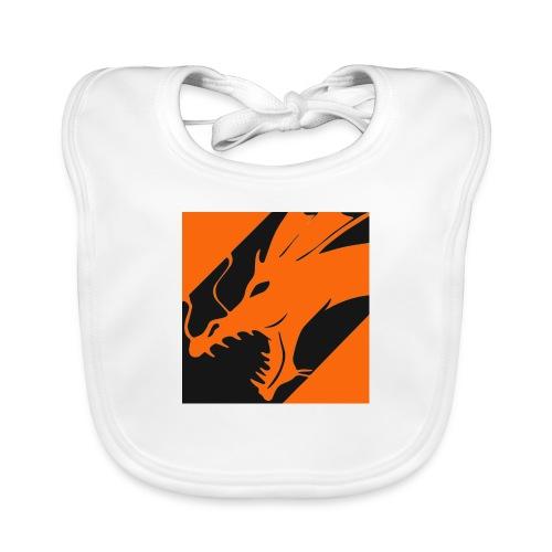 Dragon Orange - Bio-slabbetje voor baby's
