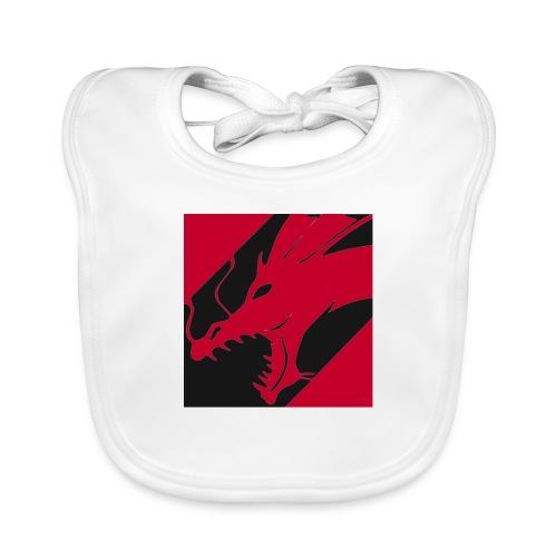 Dragon Red - Bio-slabbetje voor baby's