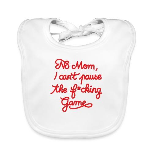NO MOM I CAN'T PAUSE THE F* GAME! CS:GO - Baby Organic Bib