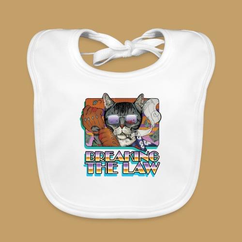 Crime Cat in Shades - Braking the Law - Ekologiczny śliniaczek